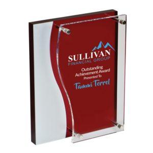 recognition award programs plaque