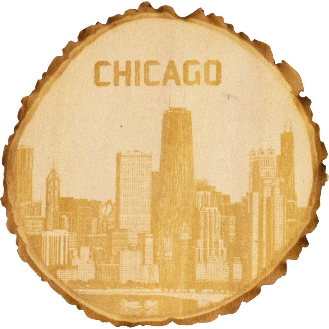 Real wood coasters, customized