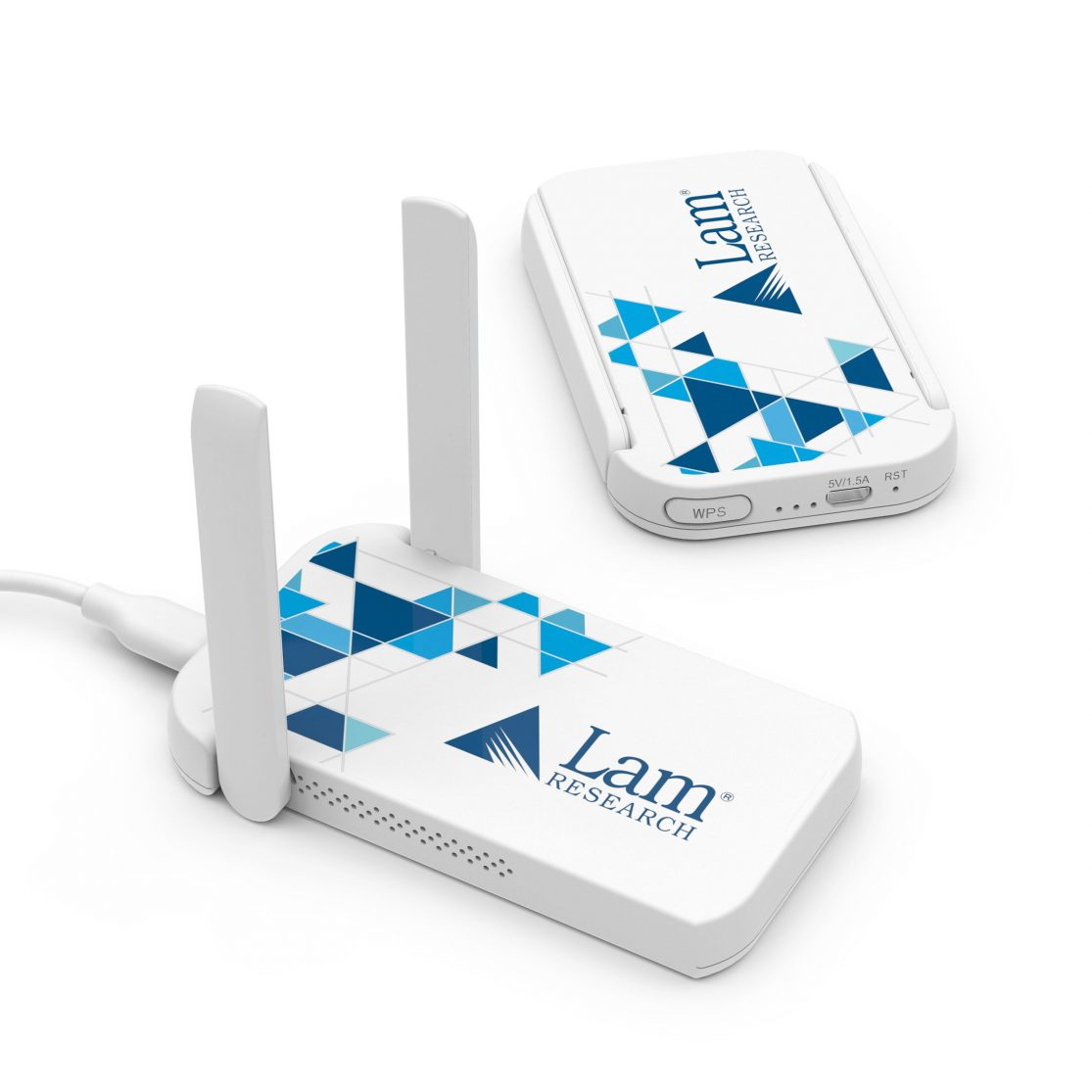 Dual bands:  2.4 GHz and 5 GHz